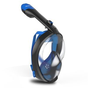 100% anti fog full face snorkel mask